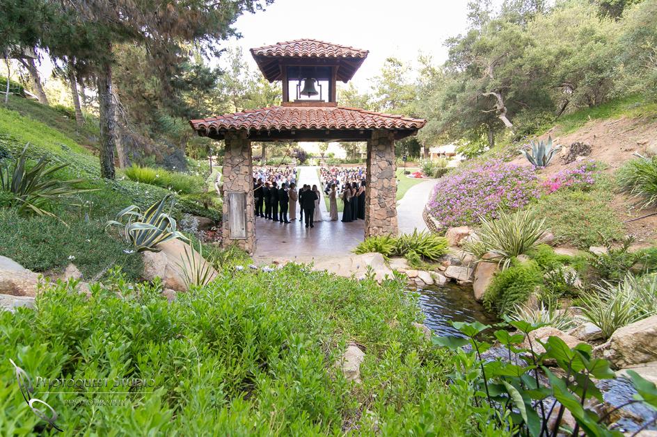 Wedding celebration at Pala Mesa Resort, Fallbrook, San Diego, California.