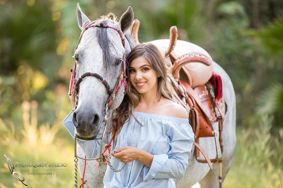 Wedding Photographer in Temecula, Engagement Photo with beautiful Couple and Horses in Riverside, California - Mayra and Juan