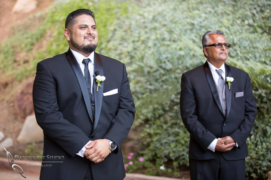 Pala Mesa Resort Wedding Photo