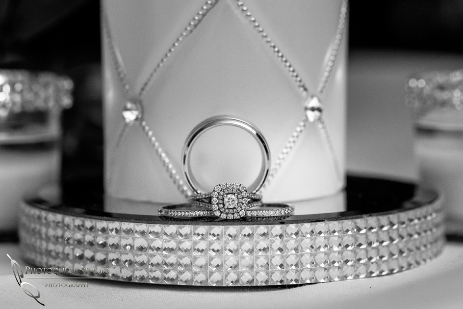 Wedding ring by Temecula Photographer