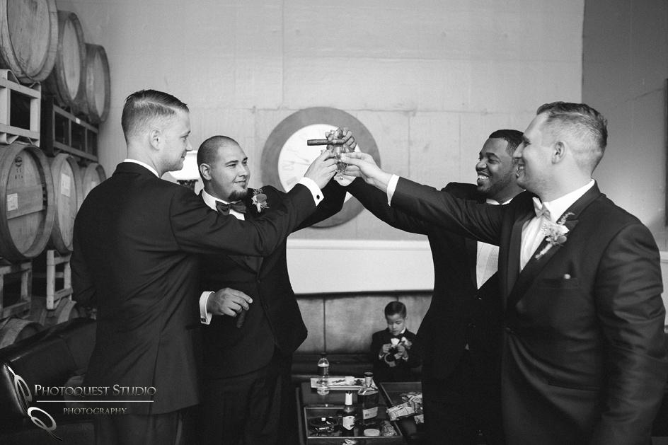 Drinking time, Temecula Winery Wedding Photographer