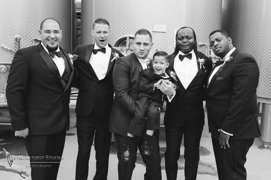 Groom and Groomsmen, Temecula Wedding Photographer