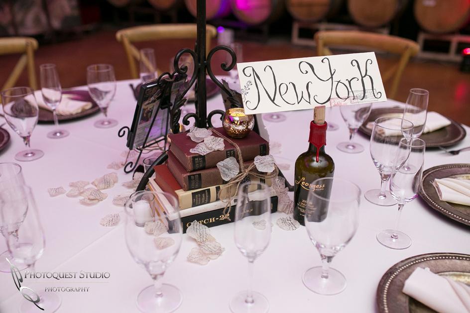 Wedding photographer in temecula, table setting