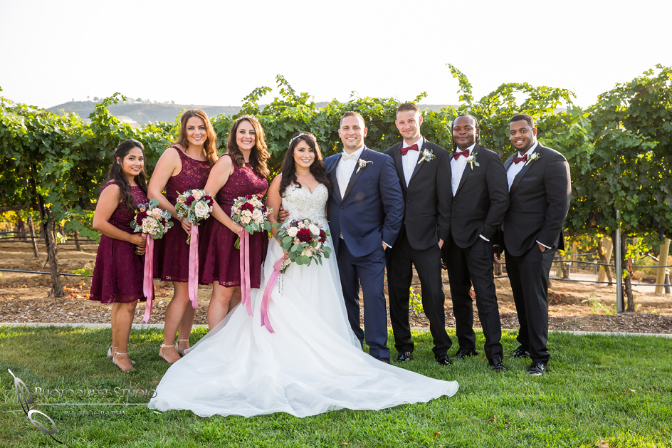 Wedding Photo at Leoness Cellars by Temecula Winery Photographer, Cynthia and Adam (40)