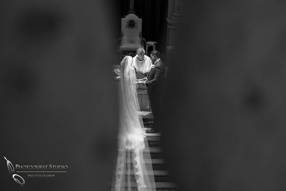 St. Denis Catholic Church wedding