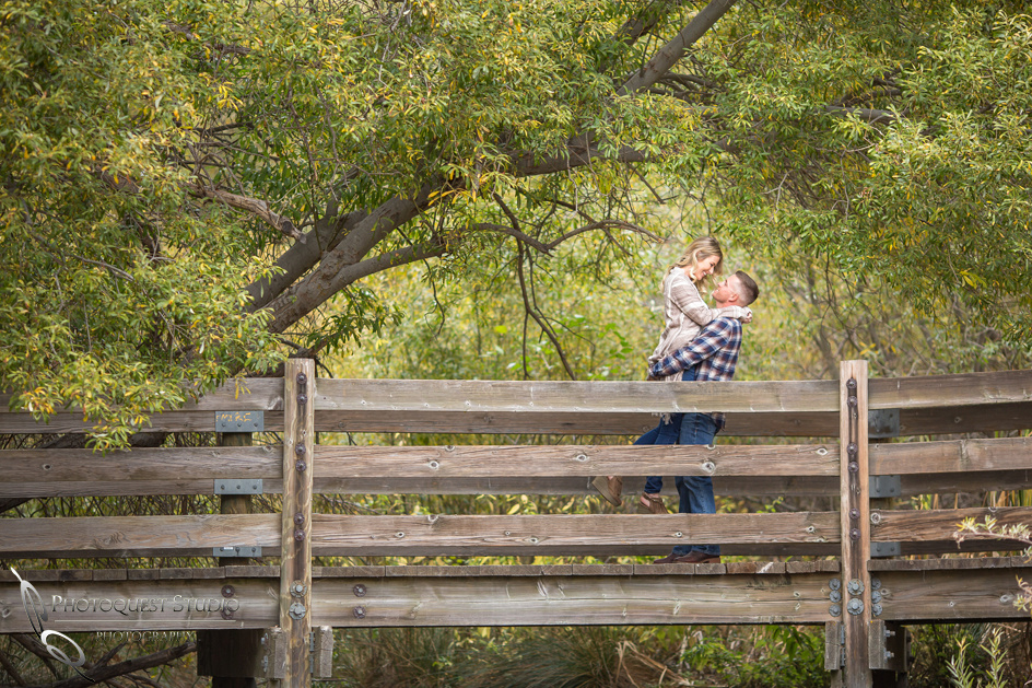 Pick her up on the bridge, Temecula Wedding Photographers