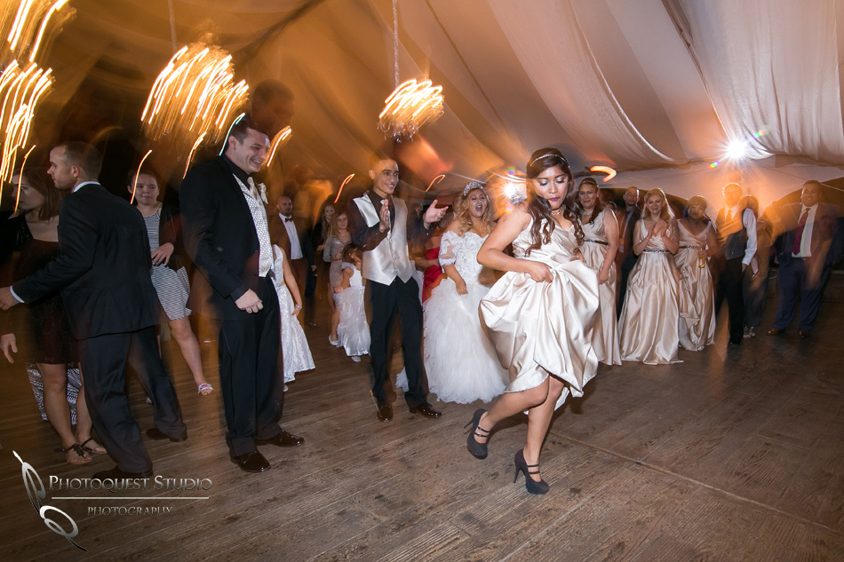 Dancing all night by Fallbrook, Temecula Wedding Photographer