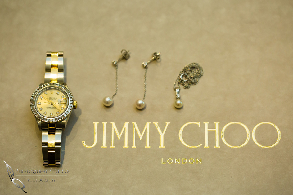 Rolex and Jimmy Choo by Temecula Wedding Photographer