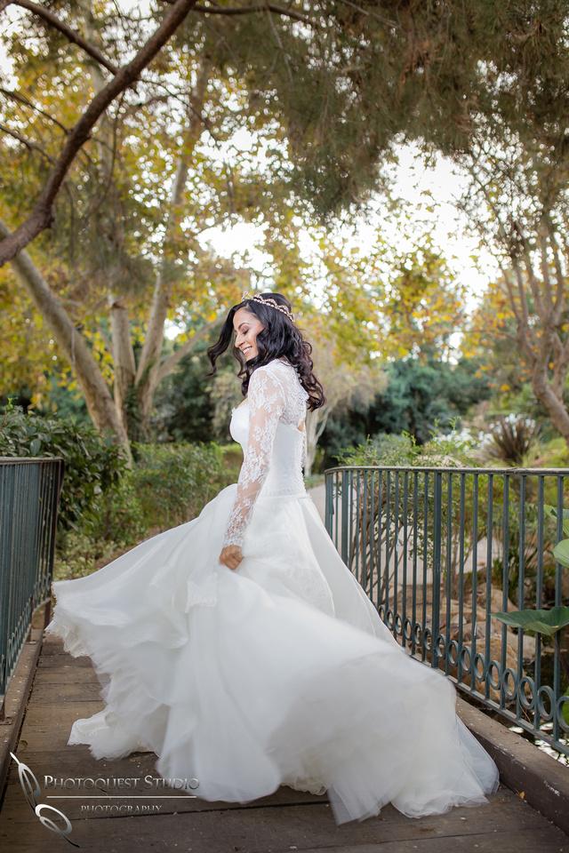 Temecula Wedding Photographer, Dacing in Suzanne Neville, London dress