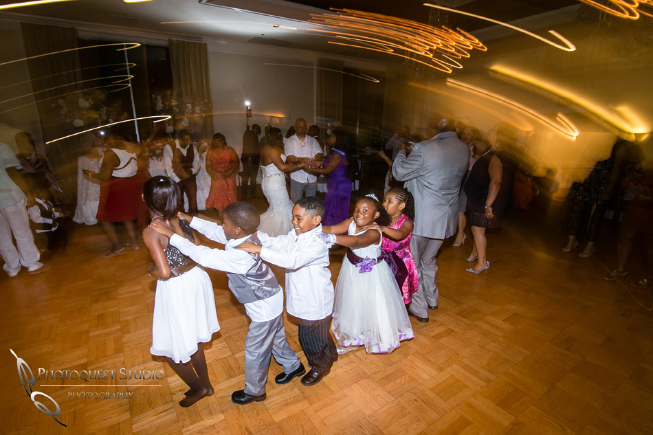 Kids dancing at Los-Angeles-Wedding-Photographer-at-Castaway-Burbank