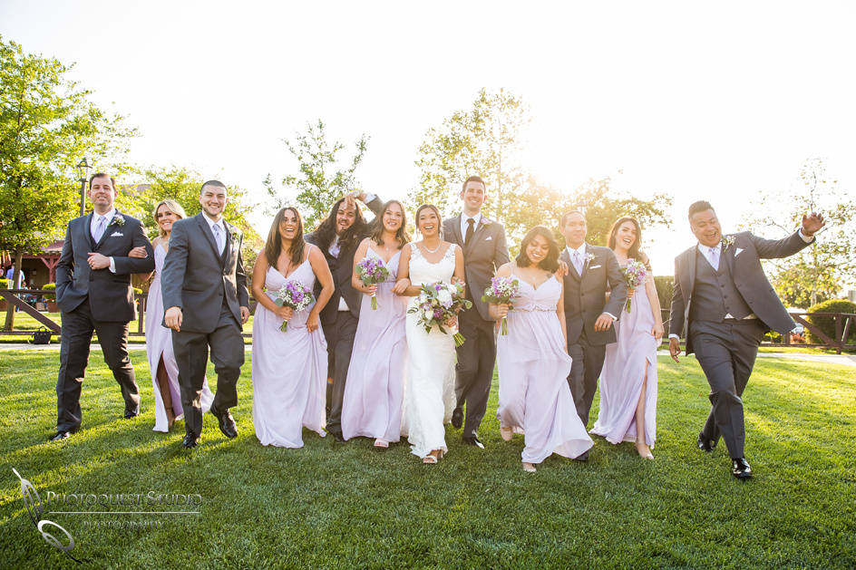 Bridals party fun time, Temecula-Wedding-Photographer