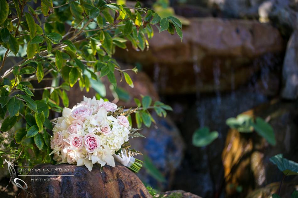Pala Mesa Resort, Wedding bouquet