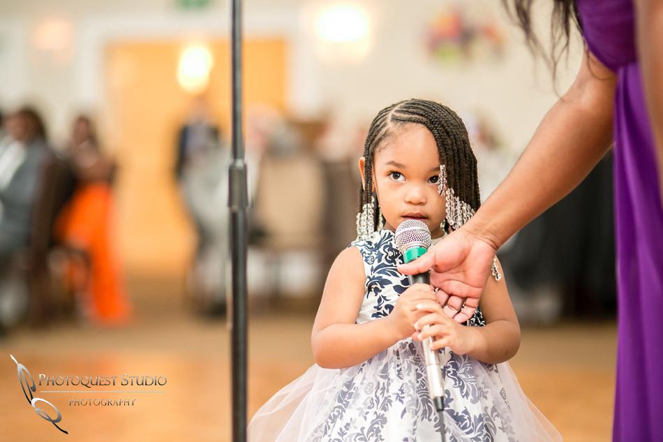 Beautiful young girl speech at Los-Angeles-Wedding-Photographer-at-Castaway-Burbank