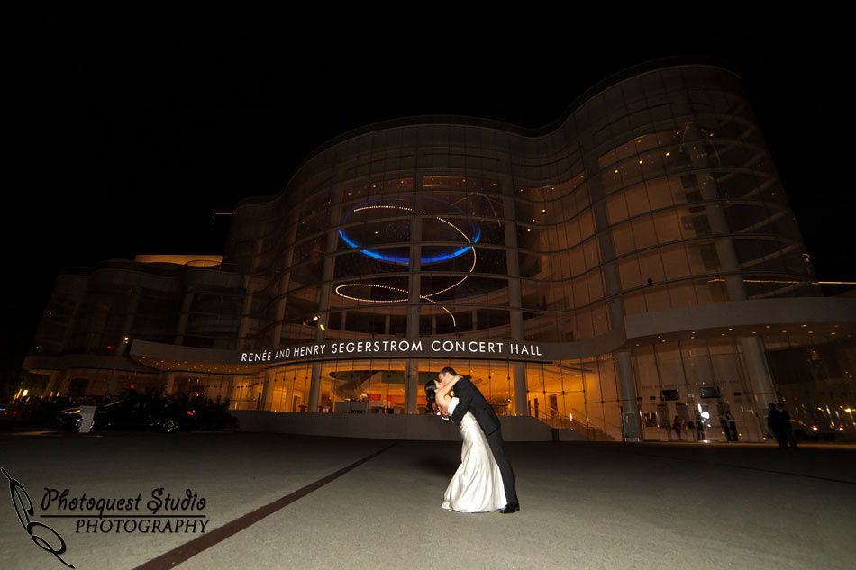 Mariners Church, Renee and Henry Segerstrom Concert Hall Center Wedding Photos by Temecula Wedding Photographer in Southern California