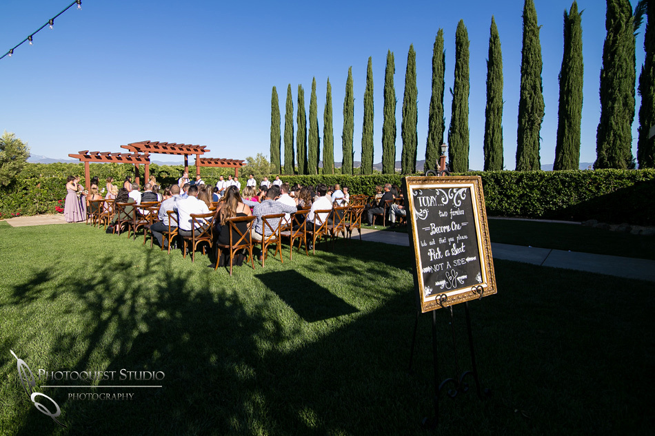 Wedding photo at Wiens Winery by Temecula wedding photographer of Photoquest Studio, Samantha & Joe (33)