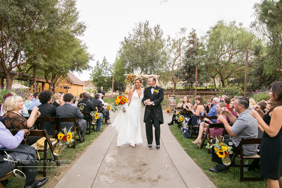 Beautiful Military Wedding at Longshadow Ranch Winery by Temecula Wedding Photographer - Tina & Kurt