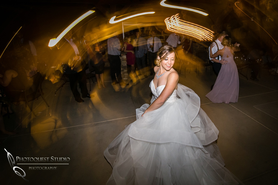 Bride and her night