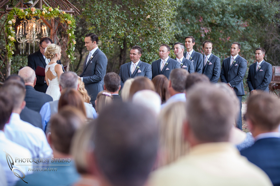 Lauren & Brett Wedding at Temecula Creek Inn byTemecula Wedding Photographers of Photoquest Studio.