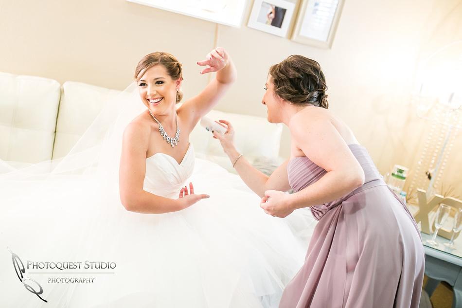 Funny Wedding preparation Photo by temecula wedding photographer
