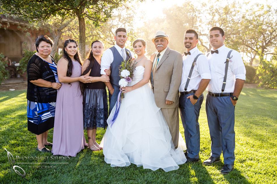 Wedding photo at Wiens Winery by Temecula wedding photographer of Photoquest Studio, Samantha & Joe (39)