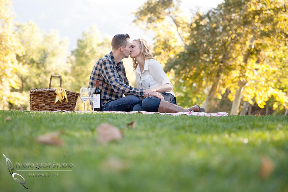 Lytle Creek, San Bernardino Engagement photo by Temecula wedding photographer