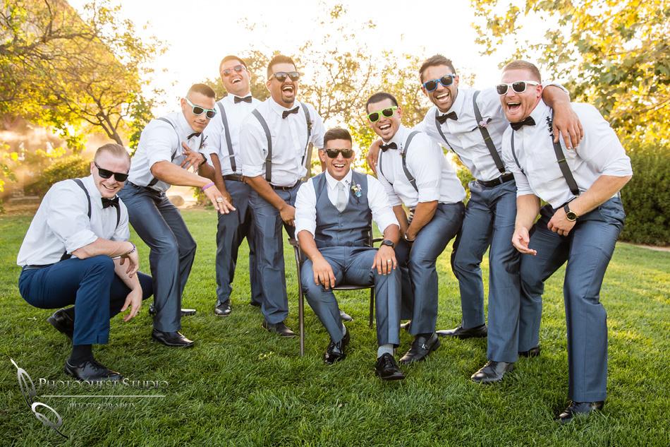 Wedding photo at Wiens Winery by Temecula wedding photographer of Photoquest Studio, Samantha & Joe (51)