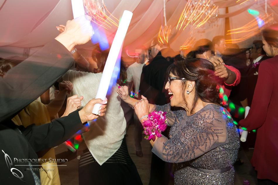 Mom rocking the dance floor