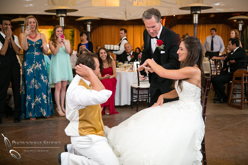 Father of the Bride checking the ring by Temecula Wedding Photographer