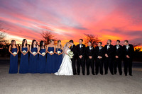 wiens family cellars winery sunset wedding by temecula wedding photographer