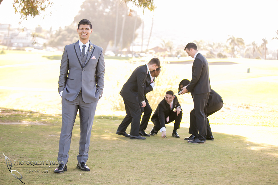 Groom and his men, Temecula, Fallbrook wedding photographer