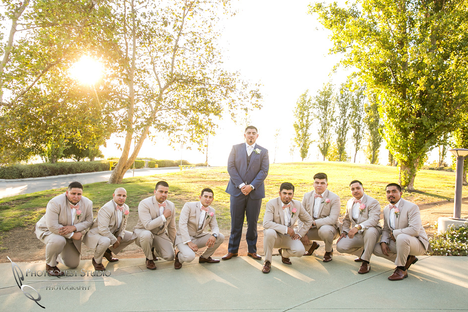 cool groom and groomsmen