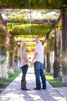 Engagement photo at South Coast Winery, California by Temecula Wedding Photographer-11