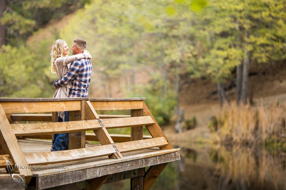 Engagement Photos at Lake Fulmor, Idyllwild