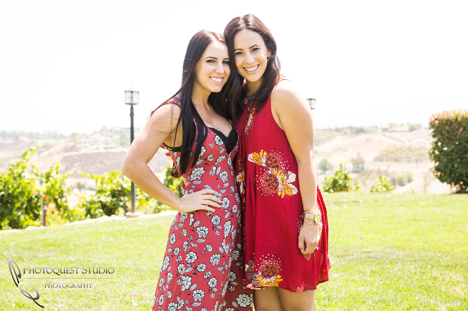 Best friend forever at Surprise Proposal at Callaway, Temecula Winery by Wedding Photographer