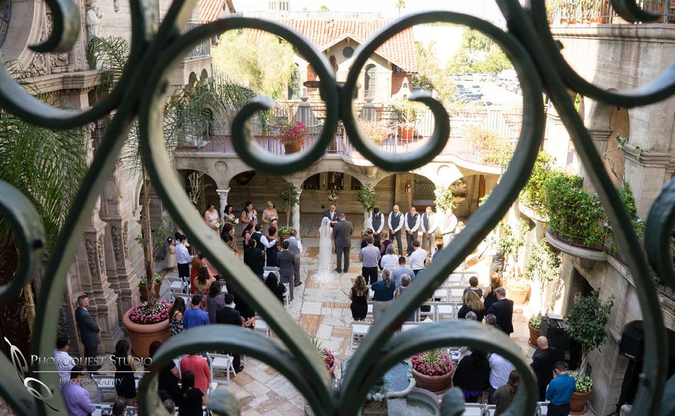 Wedding ceremony love by temecula wedding photographer
