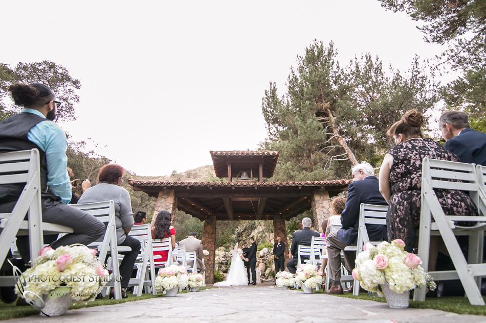 Floor angle at Pala Mesa Resort Wedding by Fallbrook, Temecula Wedding Photographer