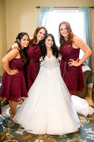 Bride and Bridesmaids, Wedding Photo at Leoness Cellars by Temecula Winery Photographer