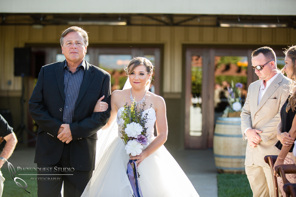 Wedding photo at Wiens Winery by Temecula wedding photographer of Photoquest Studio, Samantha & Joe (25)