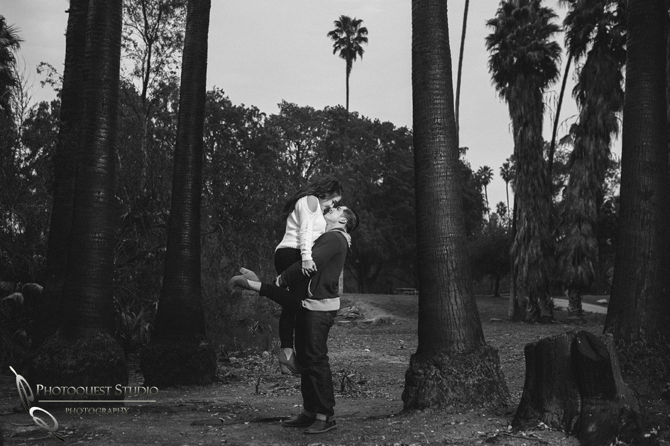 Lovely Couple Engagement photo by Temecula wedding photographer