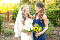 Bride and Sister at Longshadow Ranch by Temecula Wedding Photographer of Photoquest Studio (3)