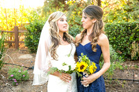 Bride and Sister at Longshadow Ranch by Temecula Wedding Photographer of Photoquest Studio (5)