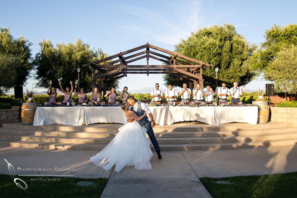 Wedding photo at Wiens Winery by Temecula wedding photographer of Photoquest Studio, Samantha & Joe (62)