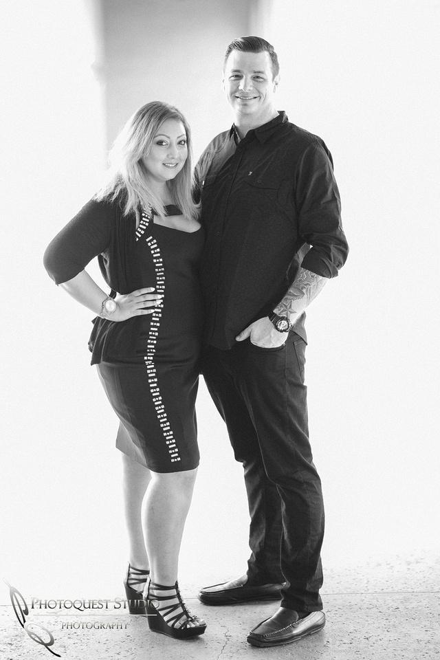 black & white engagement session at Balboa Park, San Diego, Temecula, San Diego Wedding Photographer