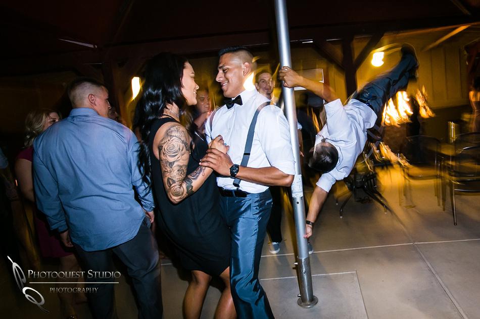 pole dancing by temecula wedding photographer