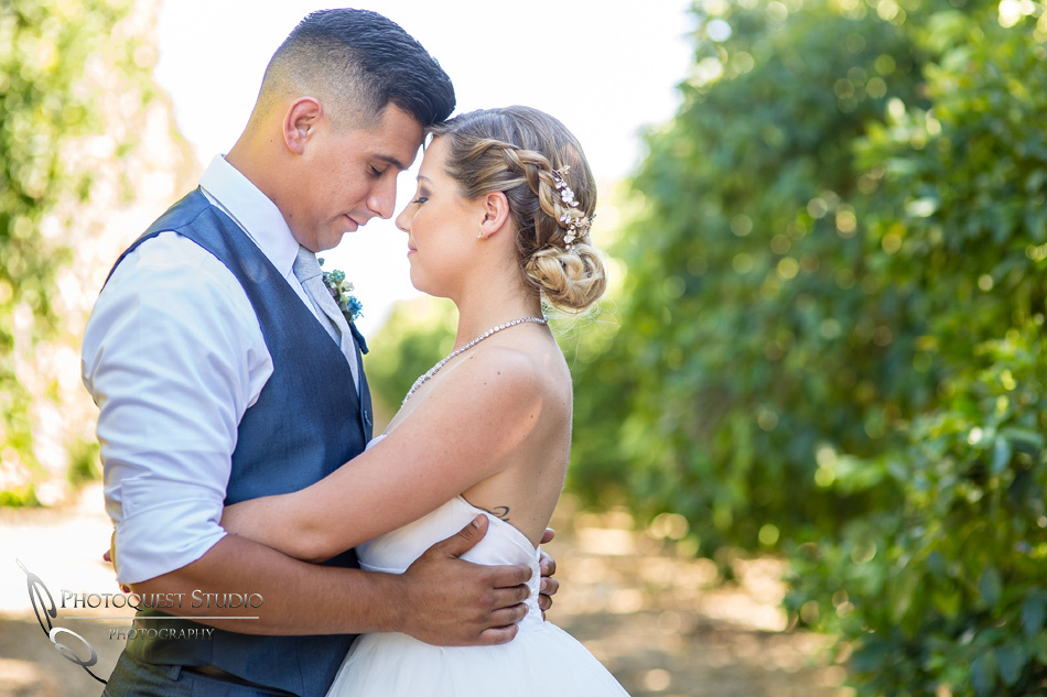 Wedding photo at Wiens Winery by Temecula wedding photographer of Photoquest Studio, Samantha & Joe (22)