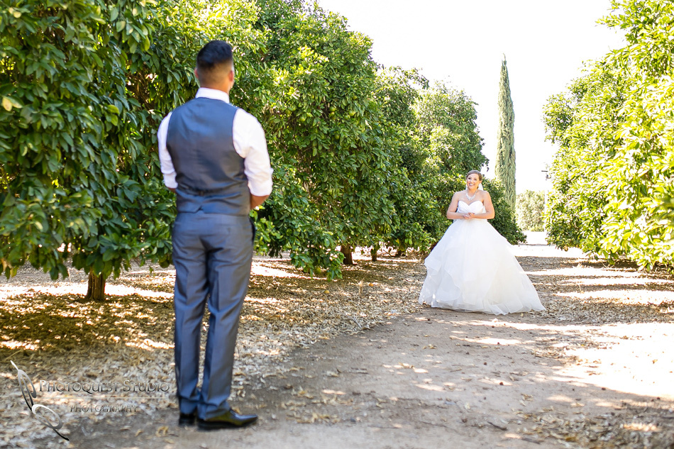 Wedding photo at Wiens Winery by Temecula wedding photographer of Photoquest Studio, Samantha & Joe (17)