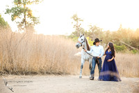 Maternity with Horse by Temecula Wedding Photographers