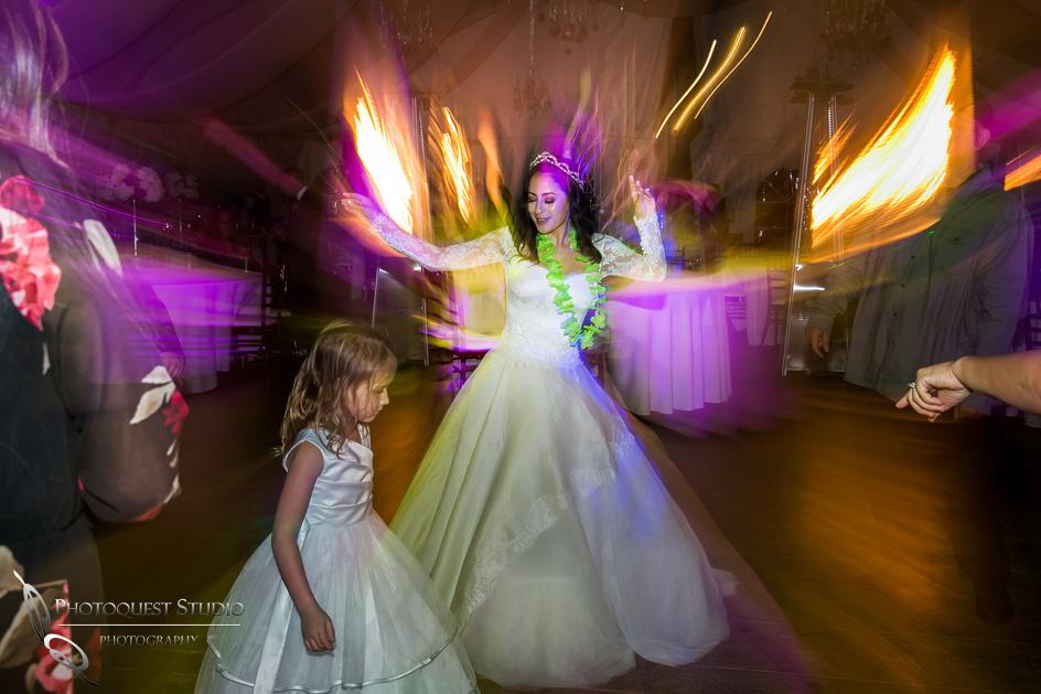 good time on the dance floor by Temecula Wedding Photographer