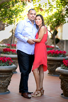 Engagement Photo at Mission Inn Hotel and Fairmount Park, Riverside - Monica & Hector (2)