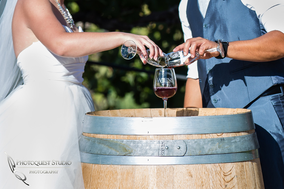 Wedding photo at Wiens Winery by Temecula wedding photographer of Photoquest Studio, Samantha & Joe (28)